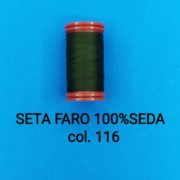 SETA FARO 100%SEDA col.116