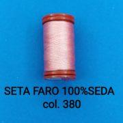 SETA FARO 100%SEDA col.380